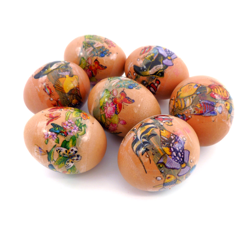 Amazing World, set of 7 Easter Egg Shrinking Wraps