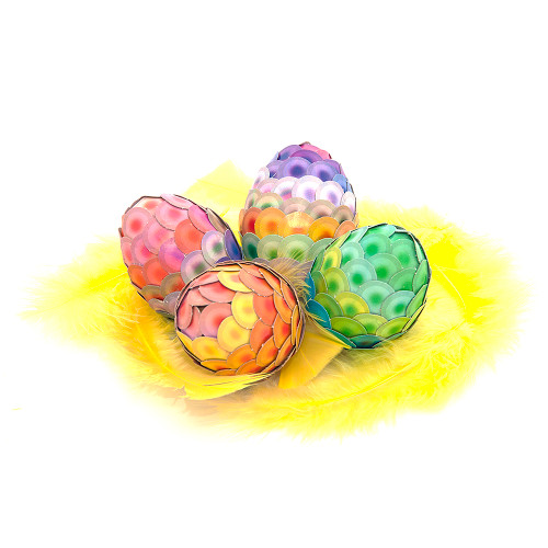 ARTichoke Rainbow, Easter egg craft kit