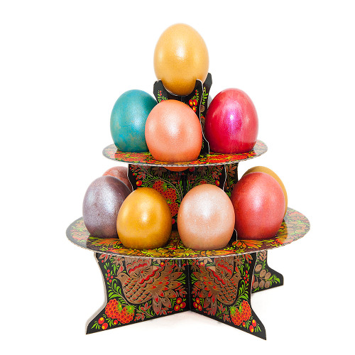 Pyramid, Decorative Stand for Easter Eggs