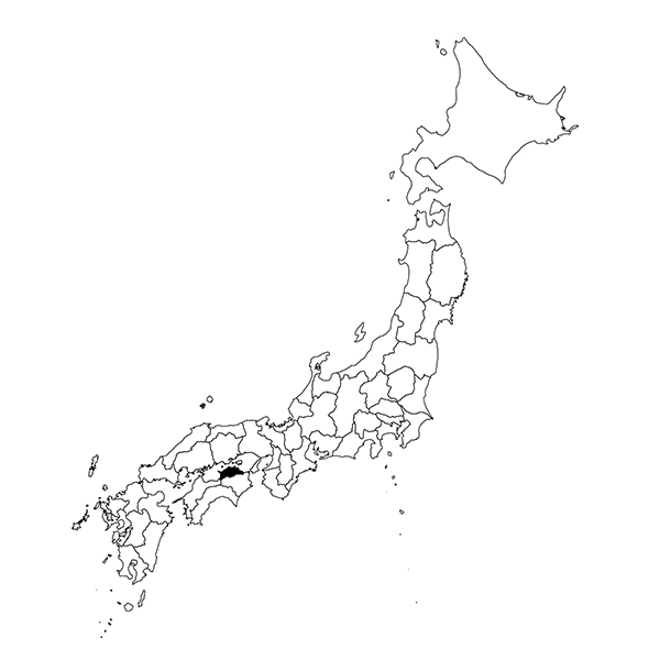 Shodoshima Island region map