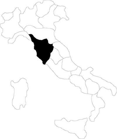 Trentino Alto Adige region map