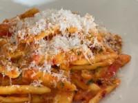 Rachel Humphrey's Nduja and Tomato Capunti Pasta