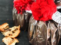 Chocolate Panettone With Pompom