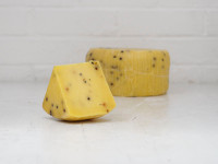 Saffron and Peppercorn Pecorino