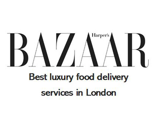 Best luxury food delivery services in London