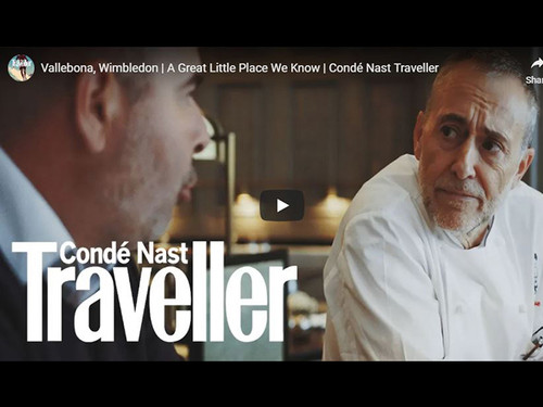 Vallebona, Michel Roux Jr Video