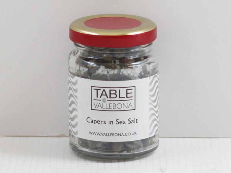 Pantelleria Capers in Sea Salt