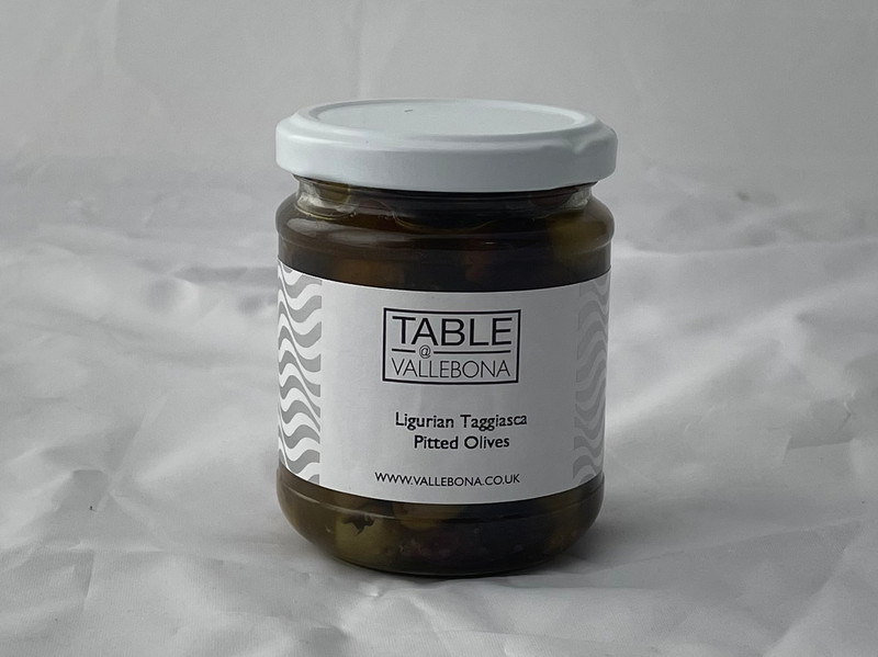 Taggiasca pitted olives