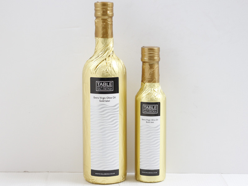 Extra Virgin Olive Oil Gold label