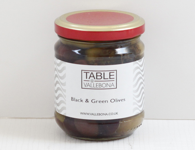 Black & Green Wild Olives