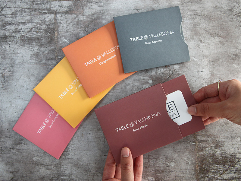 Vallebona Gift Cards