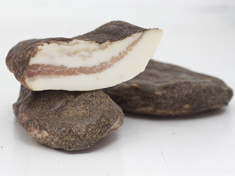 Guanciale - Dry Cured Pork Cheek from Tuscany
