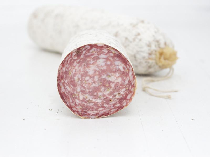 Salame Finocchiona Toscana.
