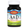 Vitamin A & D 100 Soft Gels (25,000 / 1,000 IU)