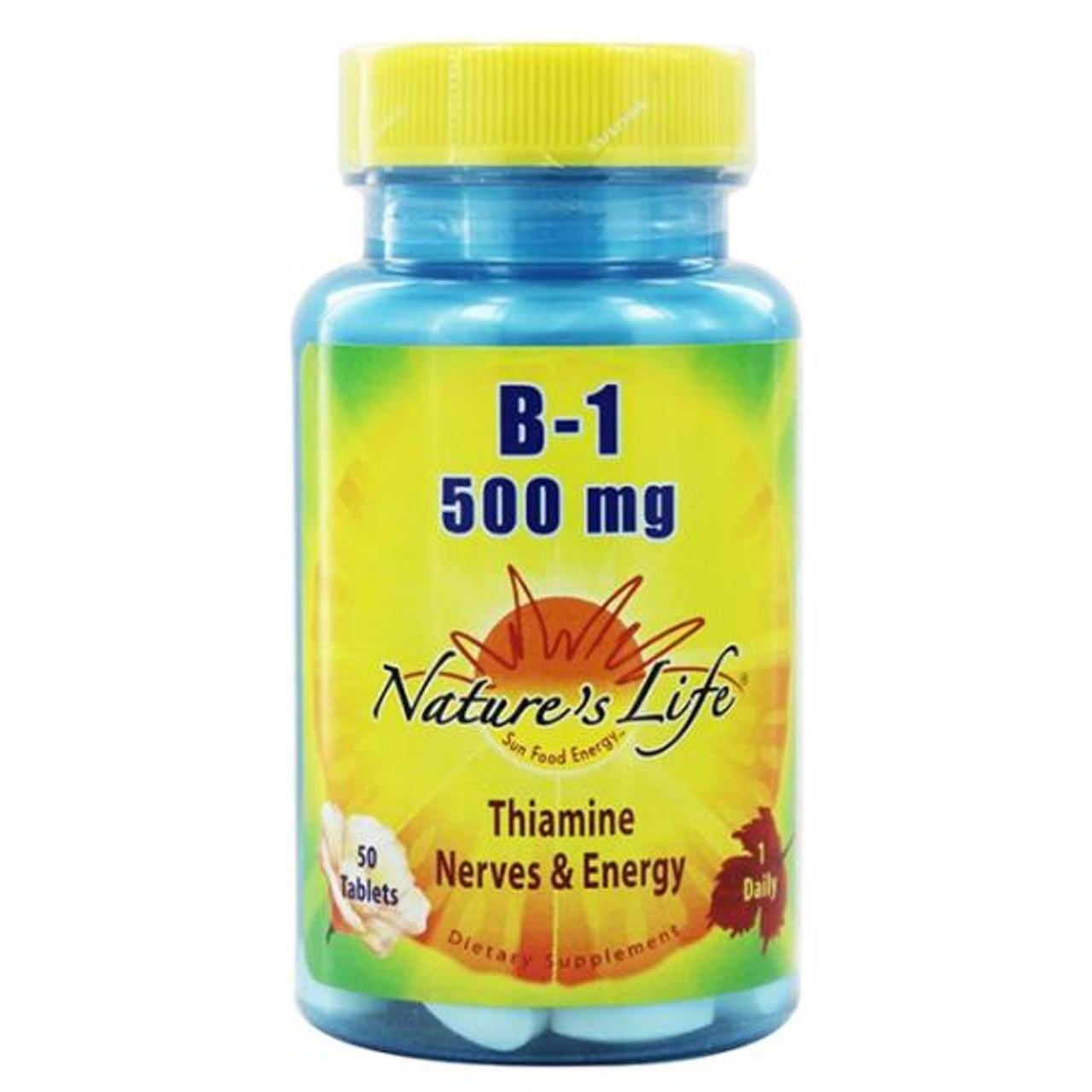 B-1 50 Tabs (500 mg)