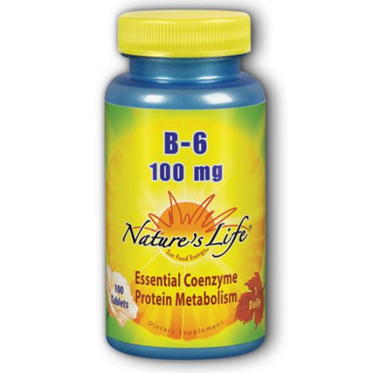 Vitamin B-6 100 mg 100 Tabs