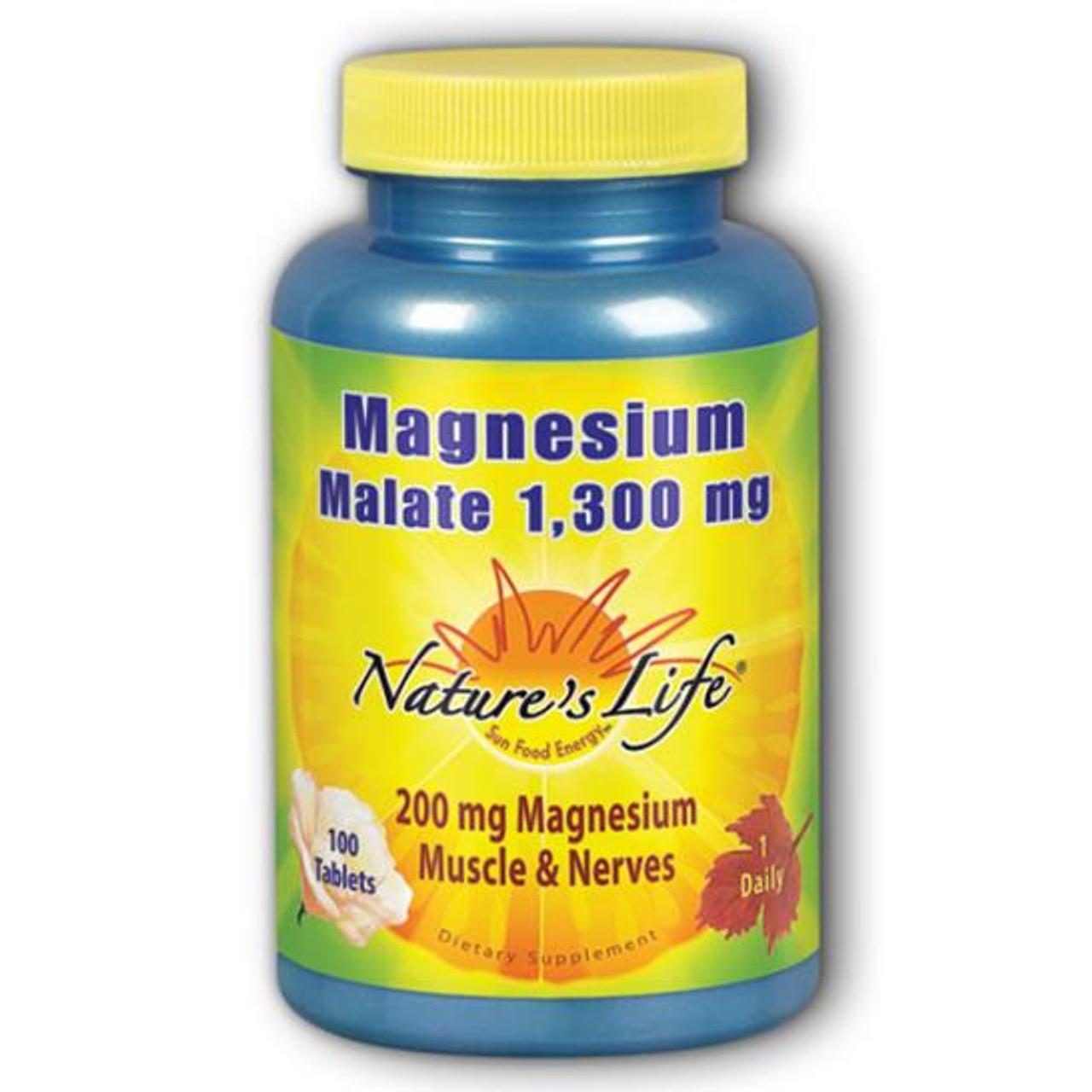 Magnesium Malate 200 mg 100  tabs