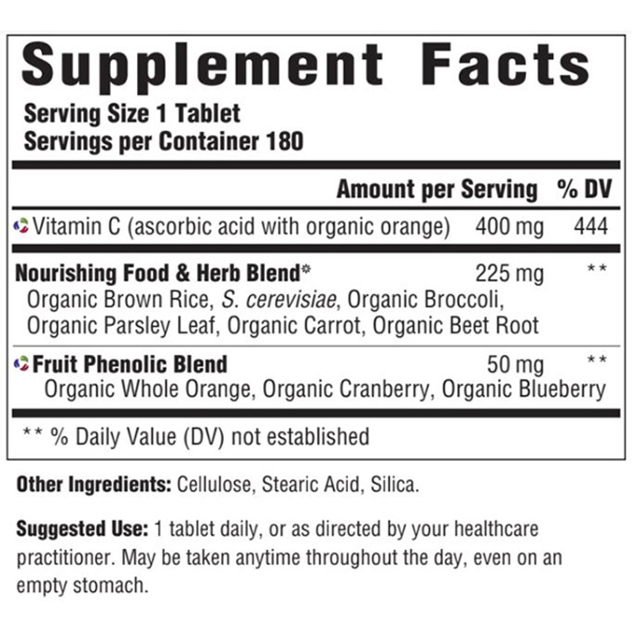 Vitamin C 400 180 Tabs
