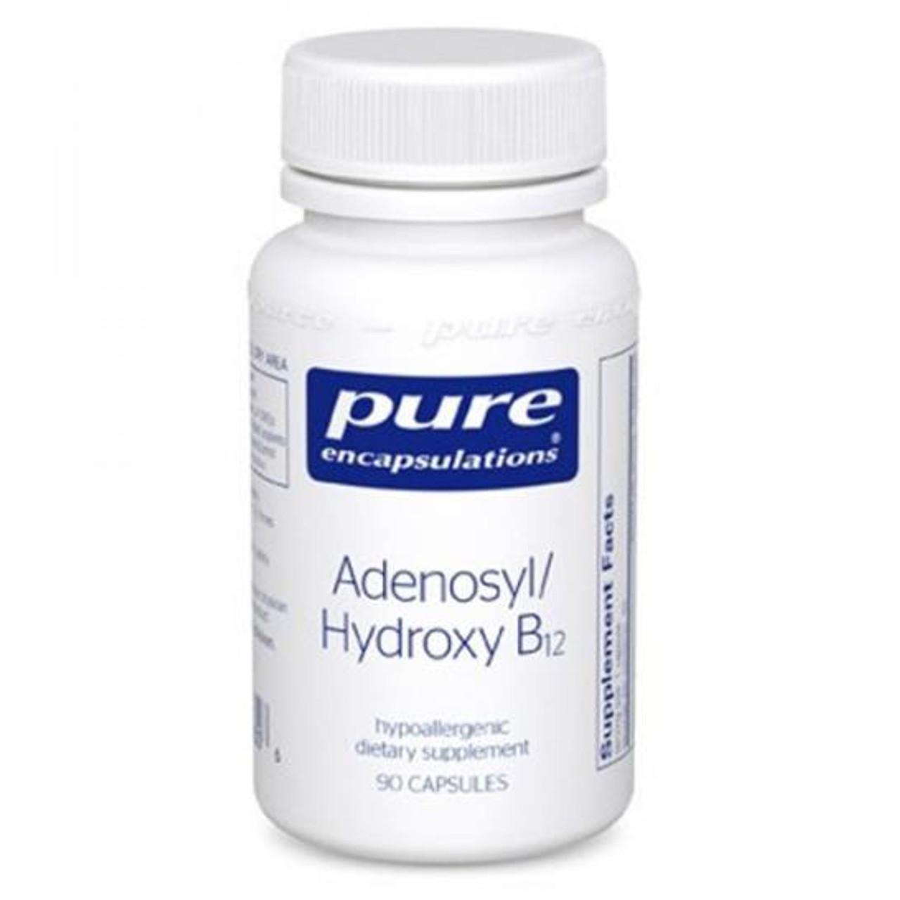 Adenosyl/Hydroxy B12 90 Caps