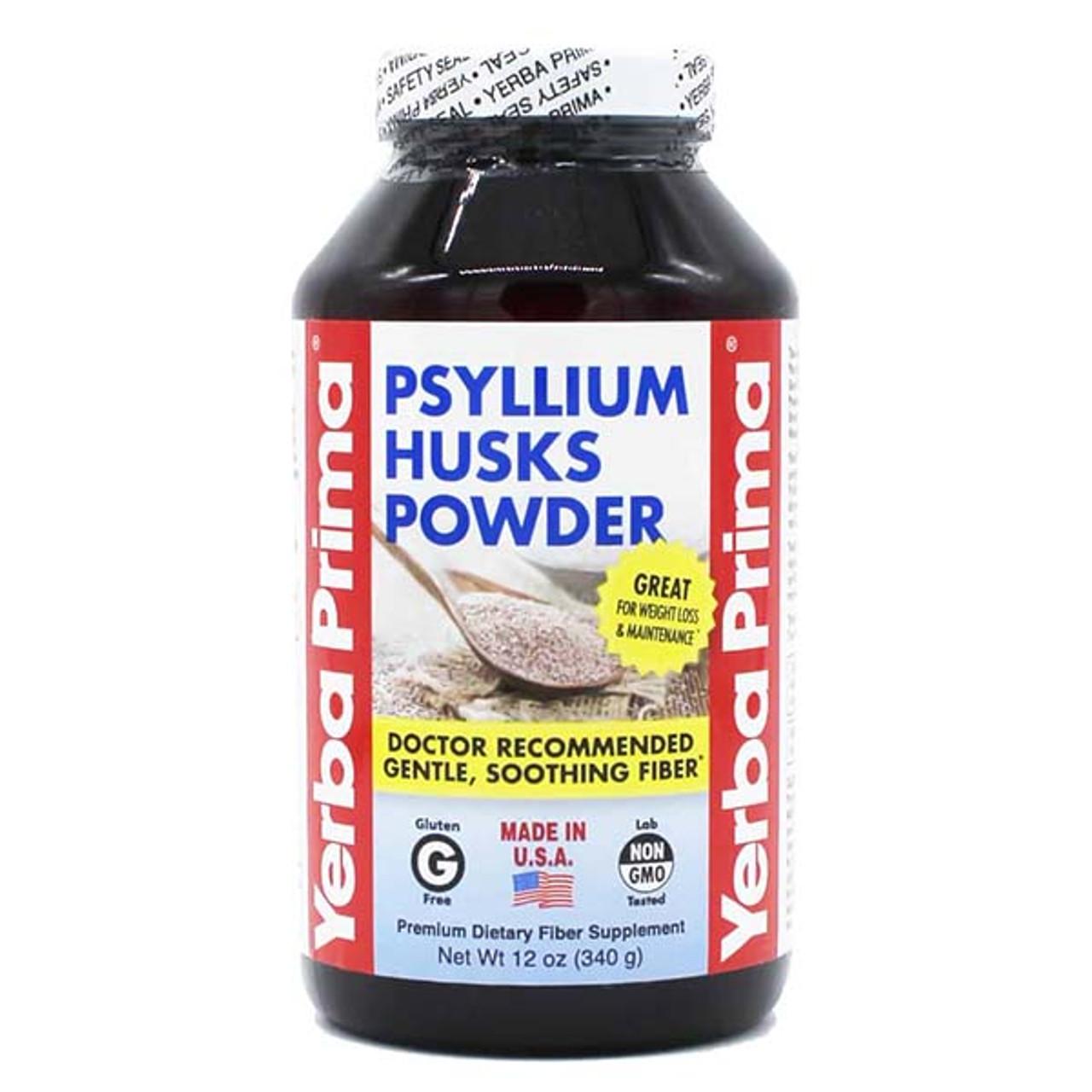 Yerba Prima Psyllium Husk Powder 12 oz.