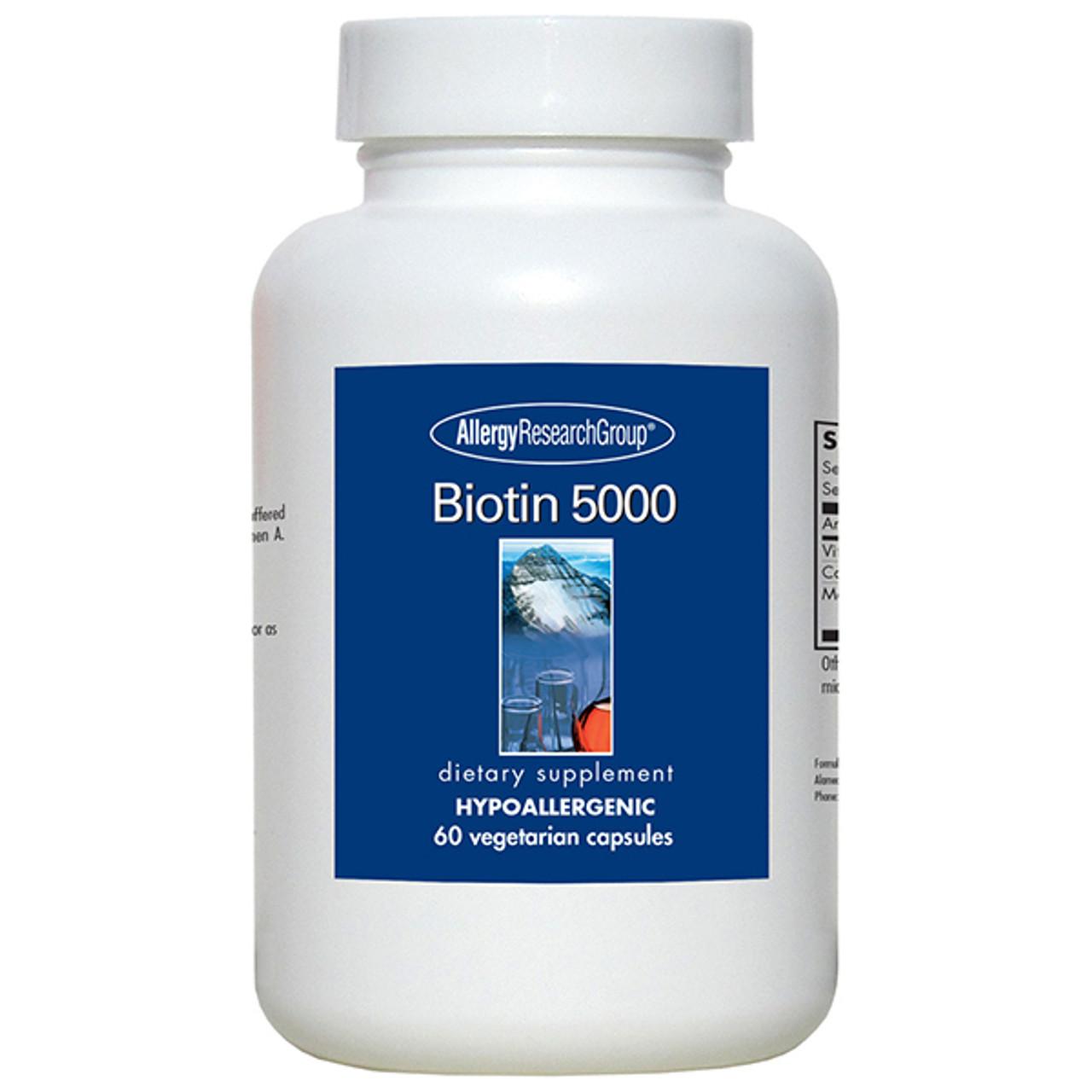 Biotin 5000 mcg 60 caps