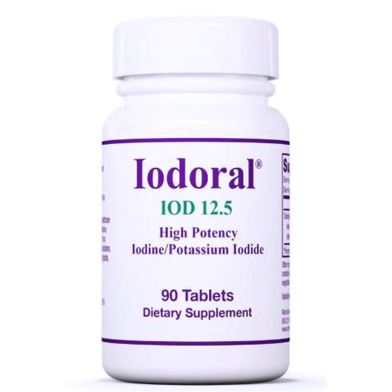 Iodoral 90 Tabs (12.5 mg)