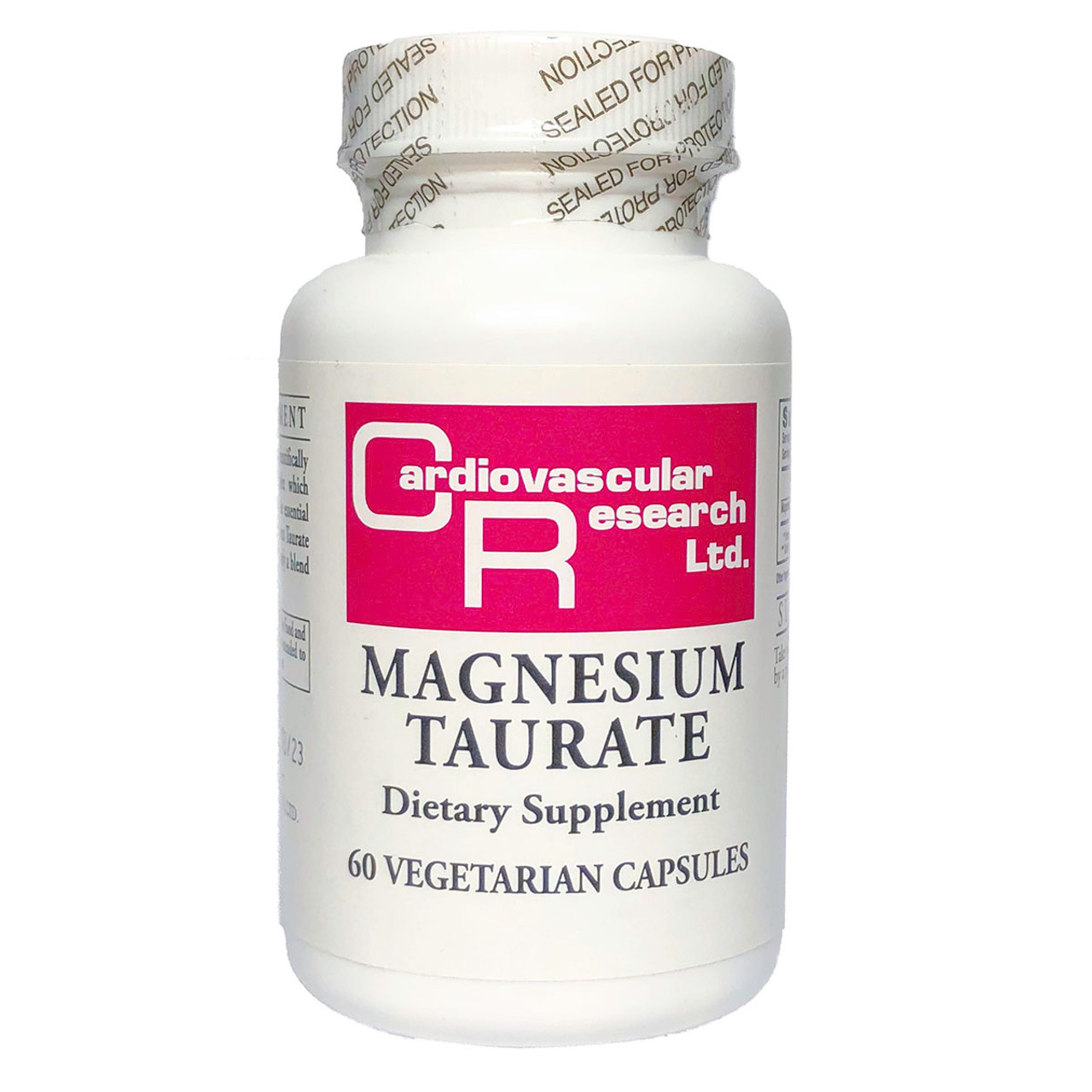 Magnesium Taurate 60 VCaps (125 mg)