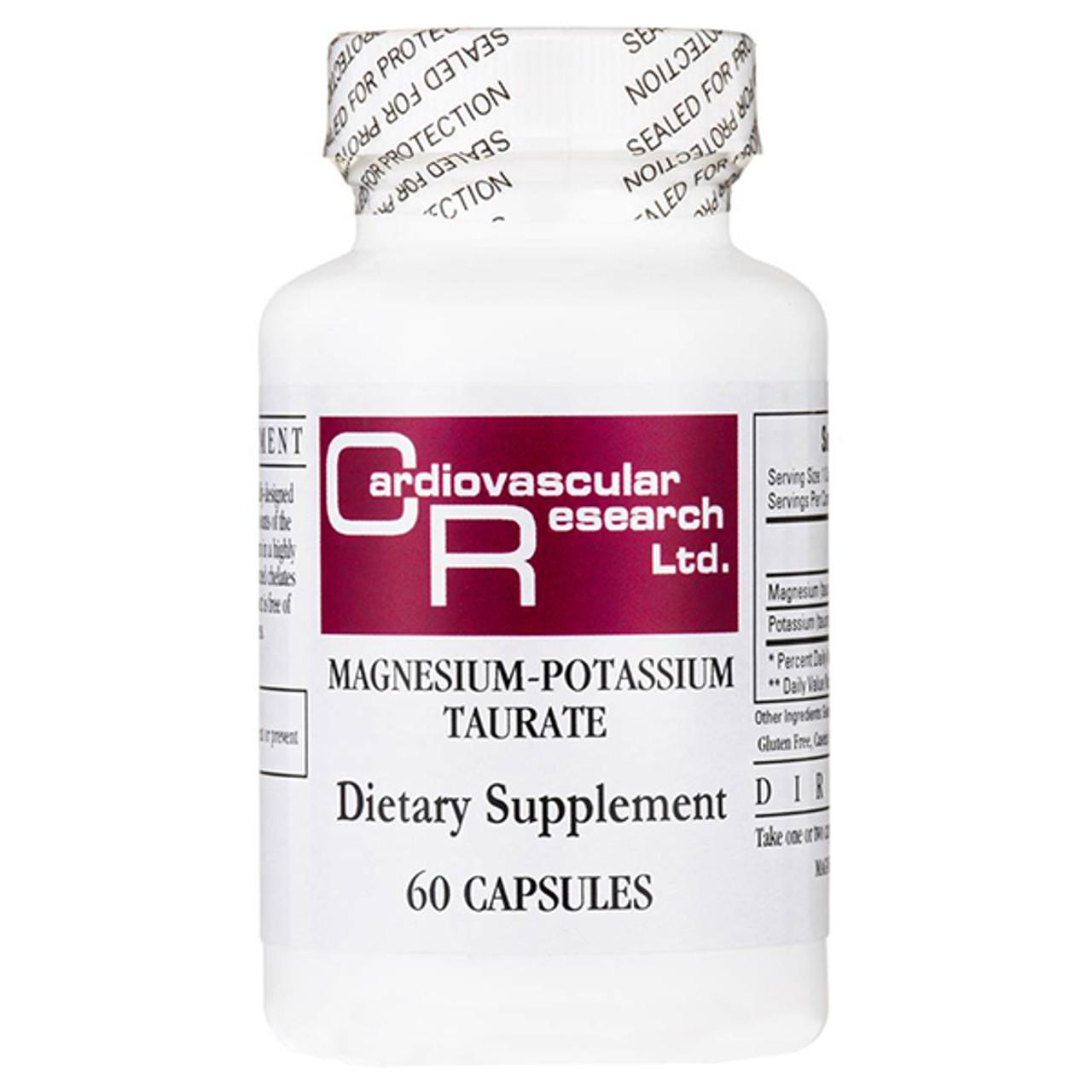 Potassium Magnesium Taurate 60 Caps