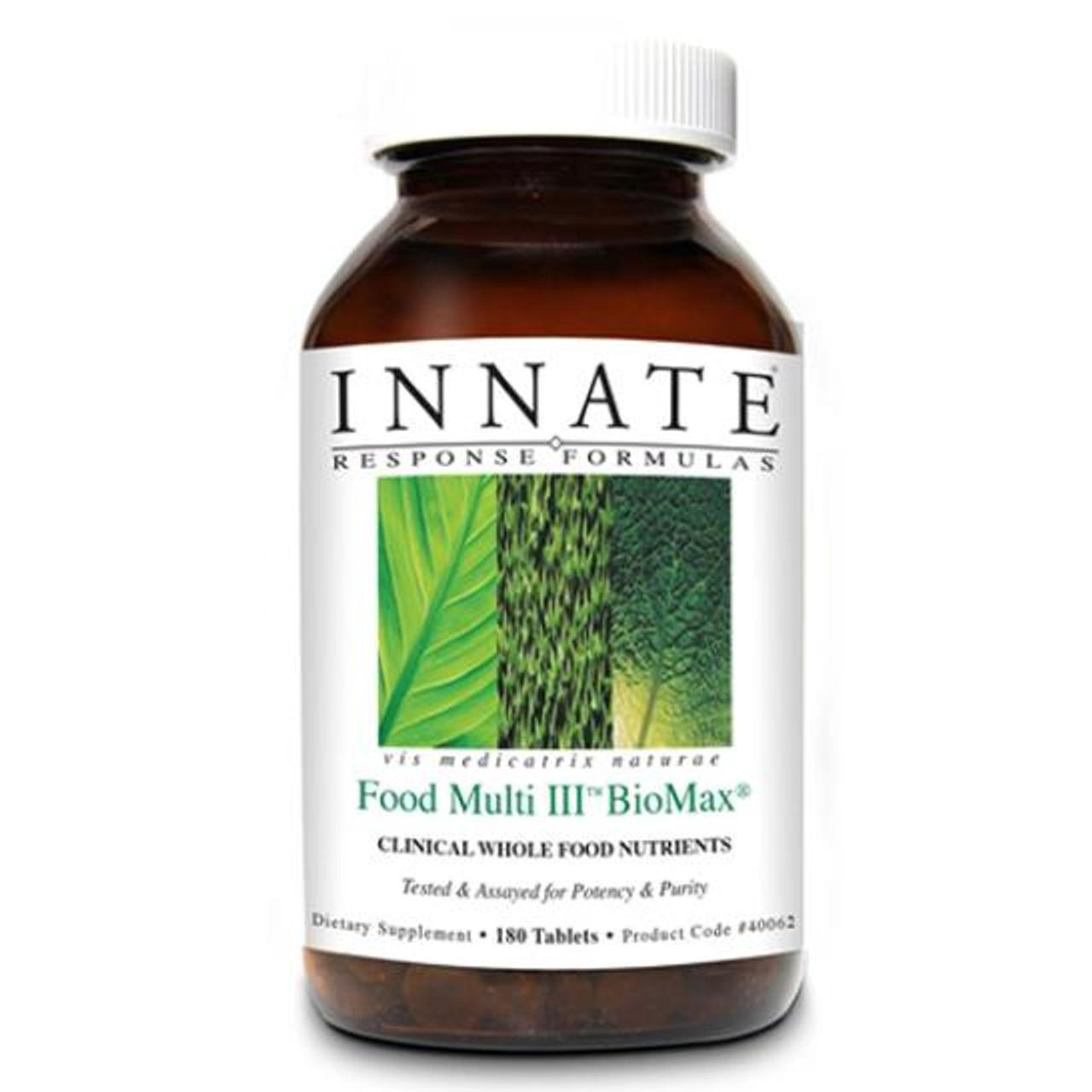 BioMax Food Multi III 180 Tabs