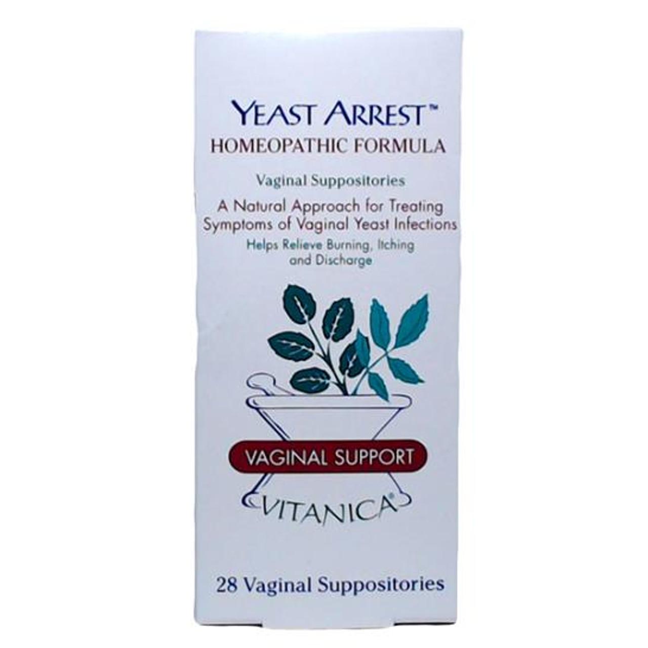 Yeast Arrest (28 Suppositories)