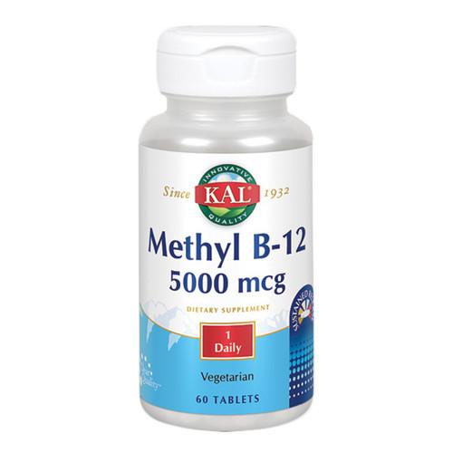 Methyl B12 Sustained Release 60 Tabs (5,000 mcg)