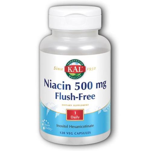 Niacin Flush Free 120 VCaps (500 mg)