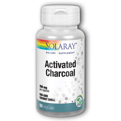 Activated Charcoal 280 mg 90 vegcaps