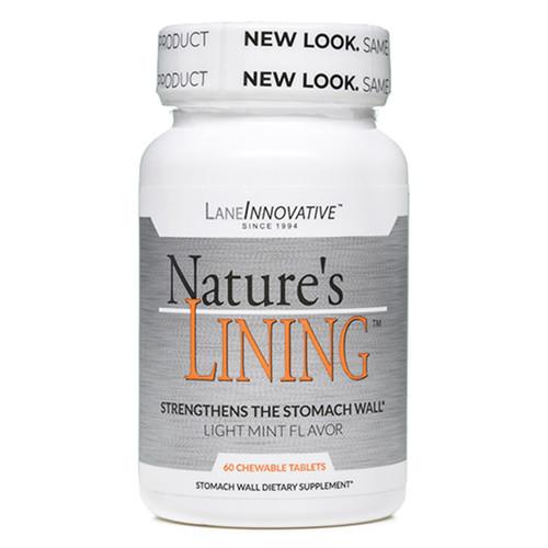 Nature's Lining (Zinc Carnosine) 60 Chewable Tabs
