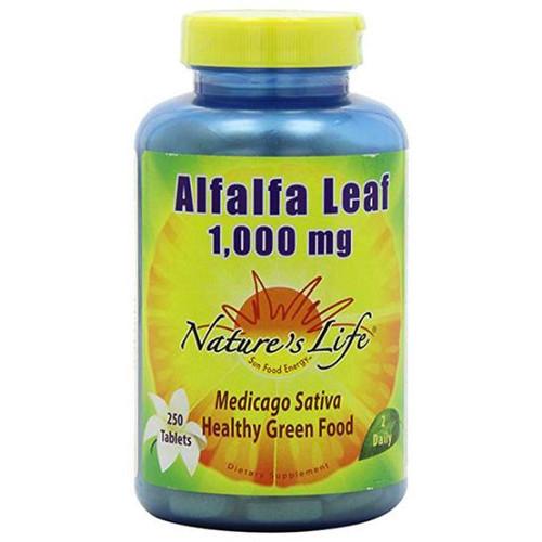 Alfalfa Leaf 1000 mg 250 tabs