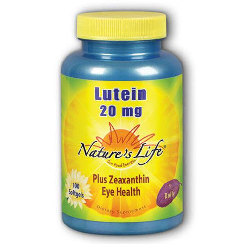 Lutein 20 mg 100 softgels