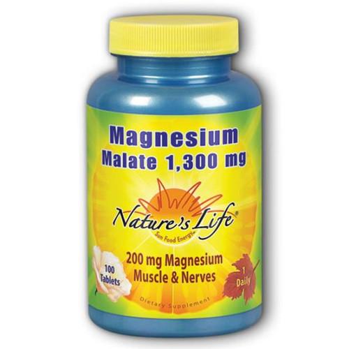 Magnesium Malate 200 mg 100  tabs