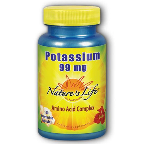 Potassium (Amino Acid Complex) 100 VCaps (99 mg)