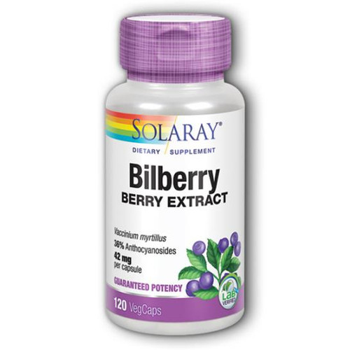 Bilberry Extract 120 Caps (42 mg)
