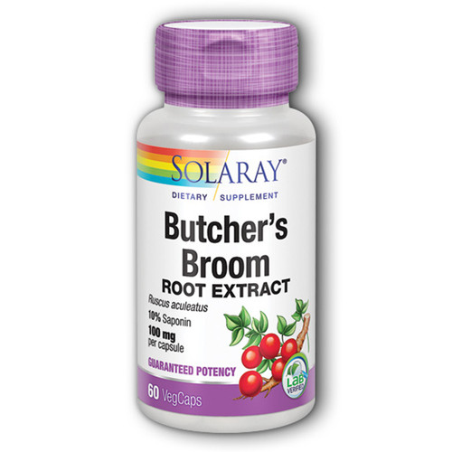 Butcher's Broom 60 Caps (100 mg)