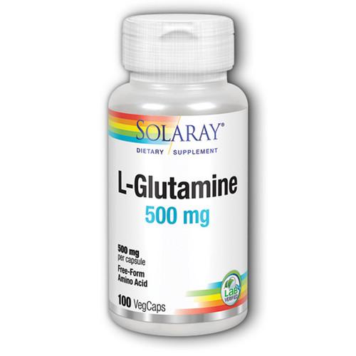 L-Glutamine 100 Caps (500 mg)