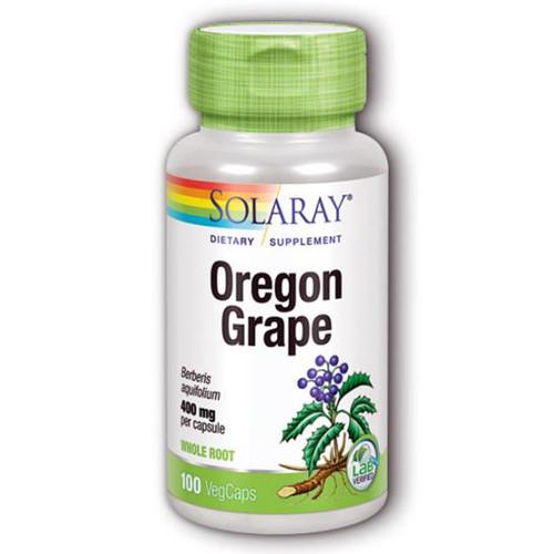 Oregon Grape Root 100 Caps (400 mg)