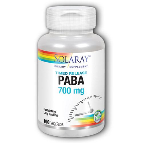PABA (Timed Release) 100 VCaps (700 mg)