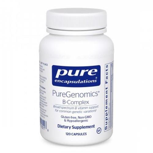PureGenomics B-Complex 120 caps