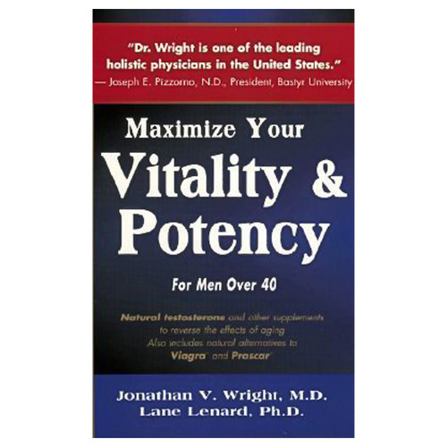 Maximize Your Vitality Potency for Men over 40