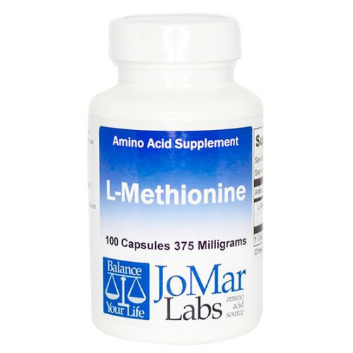 L-Methionine 100 Caps (375 mg)