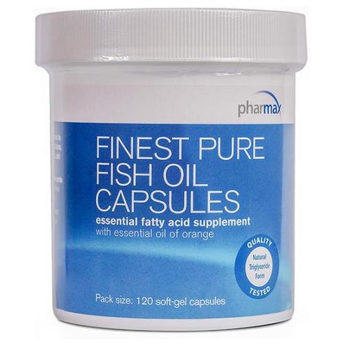 Finest Pure Fish Oil 120 Caps