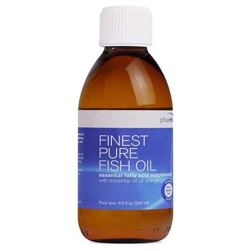 Finest Pure Fish Oil (Orange Flavor) (6.8 oz.)