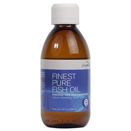 Finest Pure Fish Oil (Strawberry Flavor) (6.8 oz.)