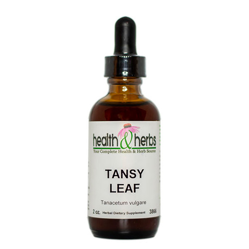 Tansy Leaf Single Extract 2 oz.